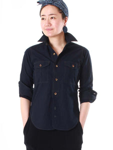 Unisex Indigo Weather 908 Cotton Work Shirt