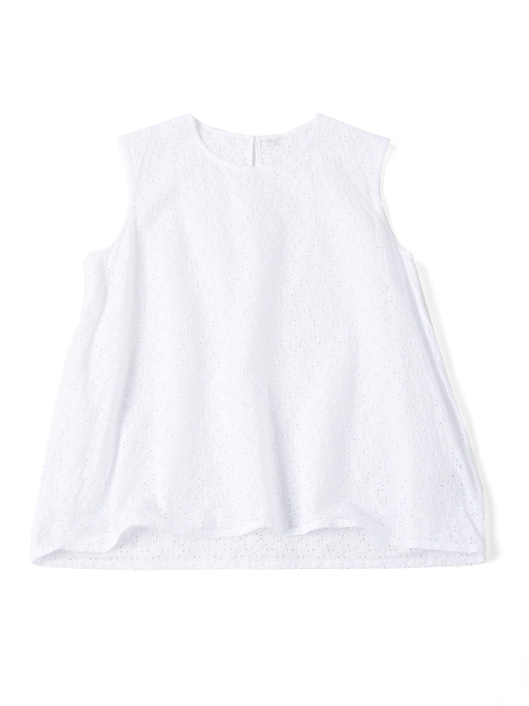 Tapet Cutwork Camisole in white