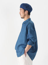 Ai Majotae Hemp 908 Small Collar Ocean Shirt