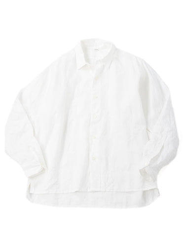 Majotae 908 Small Collar Ocean Shirt in Antique  White