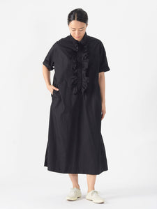 Damp Cotton Ocean Frill Dress