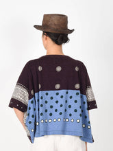 Cotton Jersey Dot Print Big T-Shirt