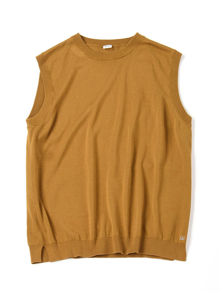 Organic Cotton Camisole in camel