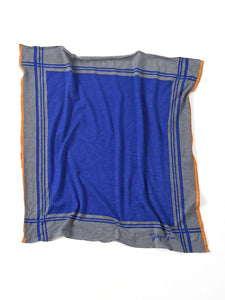Jersey Cotton Bandana in blue