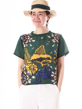 Vacation Picture Book Bandana T-shirt