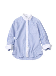 Oxford Button-Down 908 Shirt in Blue Stripe