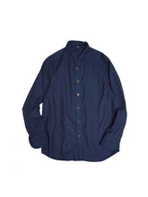Indigo Oxford Button-Down 908 Shirt in Indigo
