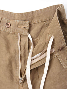 After Dye Linen Unisex 908  Baker Pants
