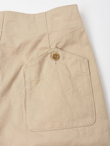 Okome Cotton Chino Unisex 908 Easy Short Pants