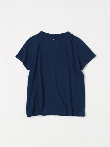 Indigo 45 Star T-shirt in Indigo with dark light