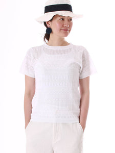 Knit Lace T-shirt