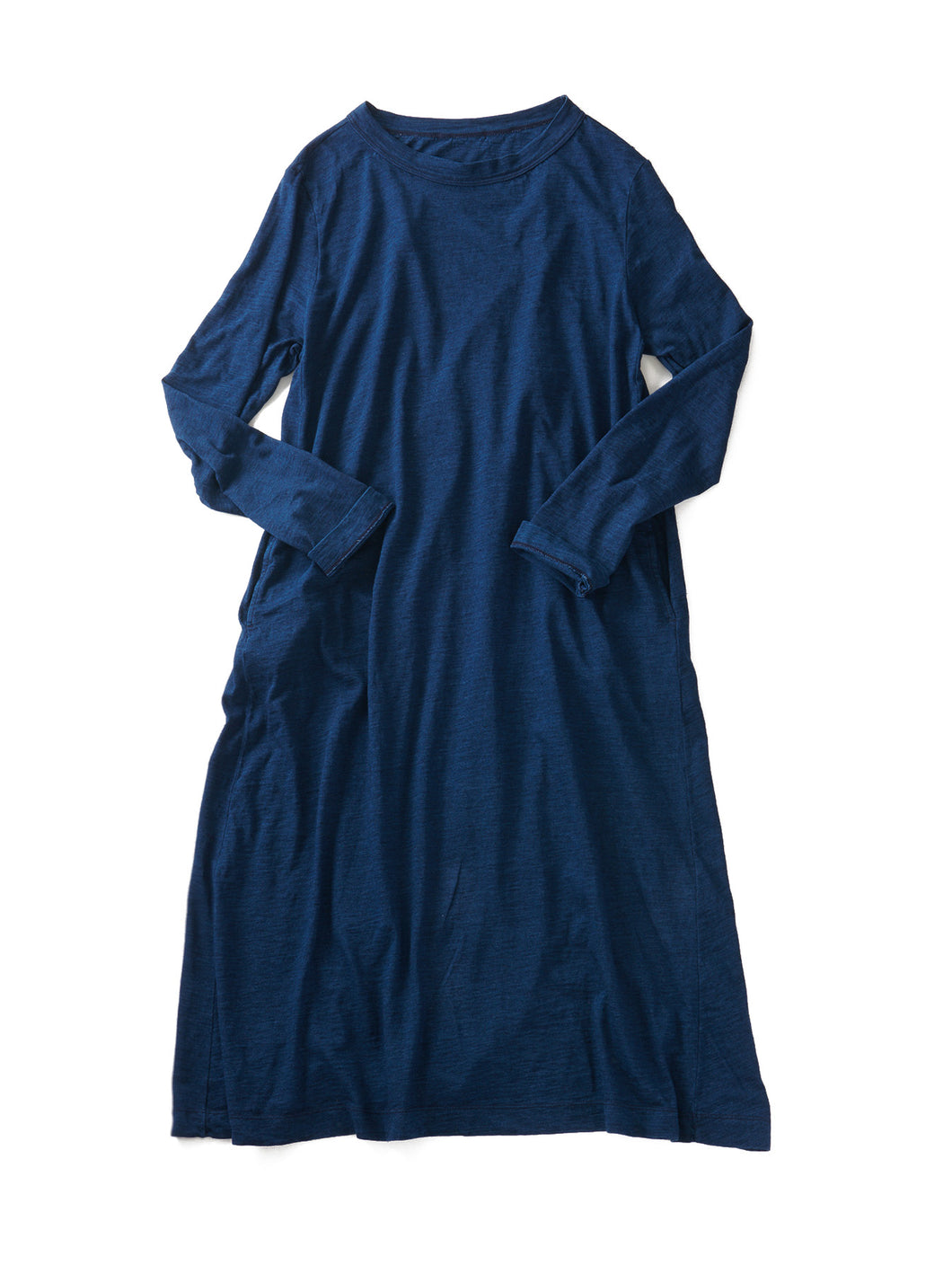 Indigo Zimba Tenjiku Dress in Indigo