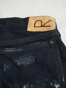 Hikohime Hard Worker Cotton Denim Pants