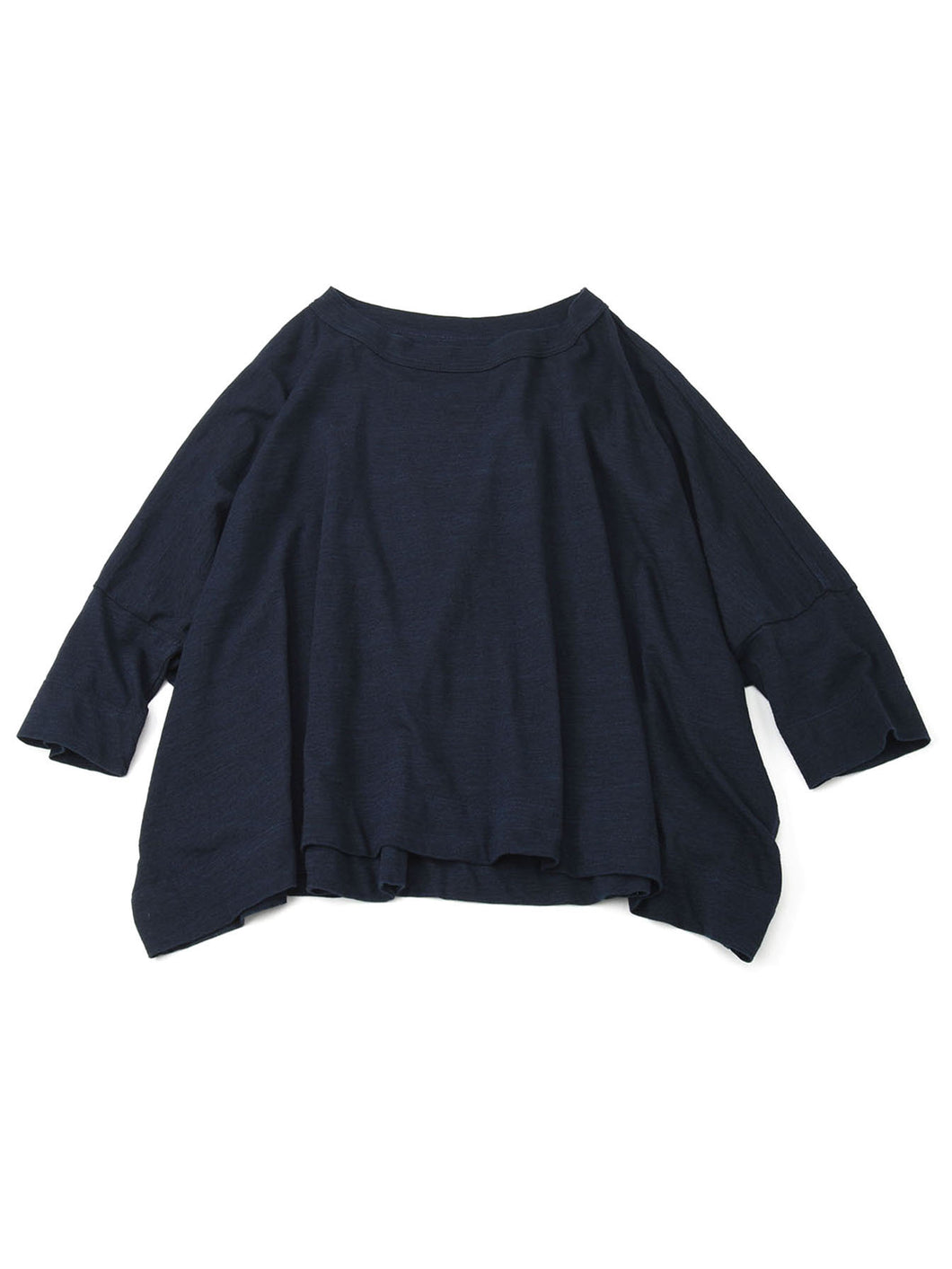 Zimba Cotton Big T-shirt in indigo
