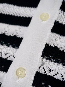 Ice Cotton Lace Knit Cardigan