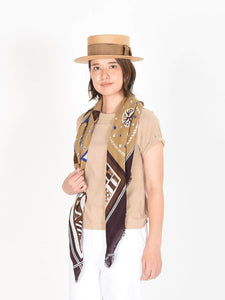 Supima Organic Cotton Flag Print Stole