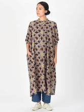 Khadi Cotton Block Print Dress
