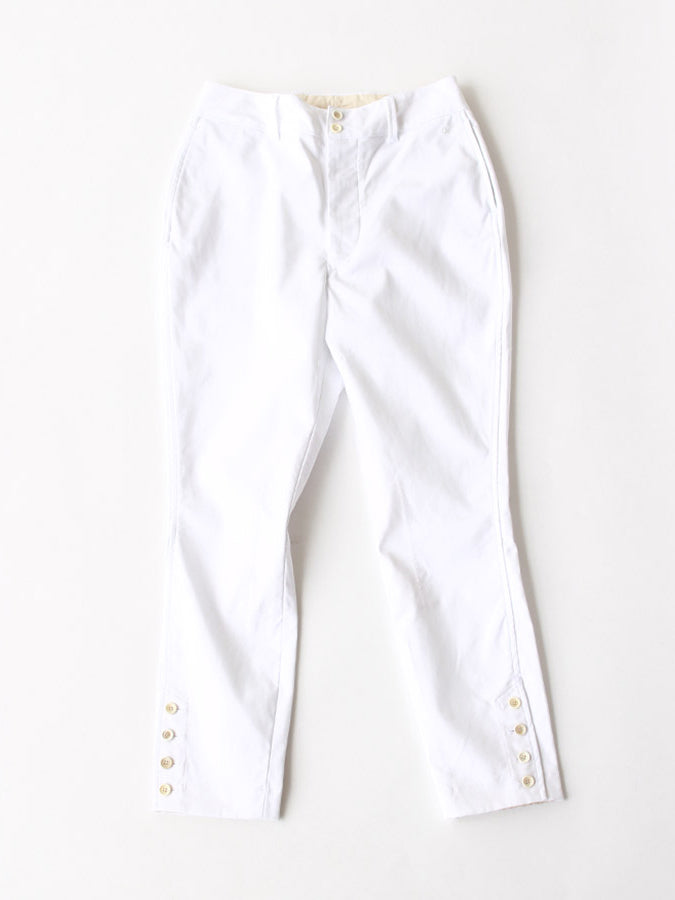 Double Cloth Stretch Umahime in White
