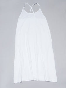 Jersey Inner Camisole Dress in White