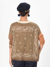 Float Wool Knit Bandana Uma T-shirt