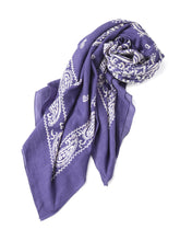 Float Bandana Big Furoshikii in purple