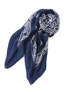 Float Bandana Big Furoshikii in navy