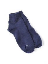 After Dye 45 Star Cotton Low Gauge Socks in purple
