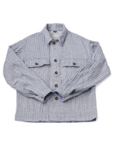 Indian Double Woven Cotton 908 Shirt Military All in herringbone
