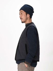 Yorimuko Quilted 908 Cotton Vest