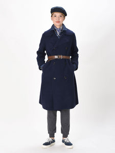 Camelliya Smooth Wool Akiya Coat