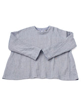 Indian Double Woven Cotton Flannel Umahiko Blouse in herringbone