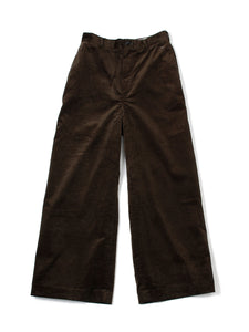 Stretch Corduroy Wide Pants
