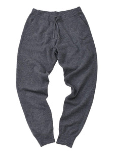 Camelliya Rib Sweat Pants in grey