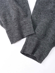 Camelliya Ribbed Wool Sweat Pants