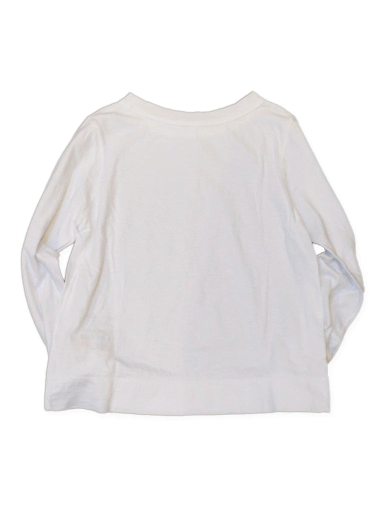 45 Star Square T-Shirt in White