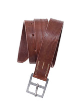 Mauro Vintage Leather Belt in brown