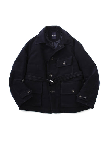 Cotton Flannel Down 908 Blouson