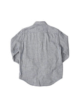 Indigo Double Woven Cotton 908 Regular Shirt