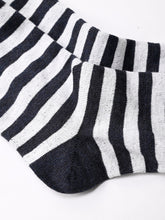 Border Cotton Socks