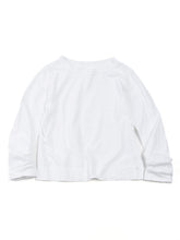 Square T-shirt in White