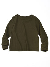 Square T-shirt in Khaki