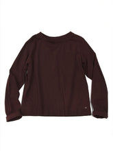 Square T-shirt in Brown