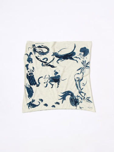 Zodiac Sign Cycle Bandana