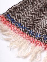Hand Craft Herringbone Muffler