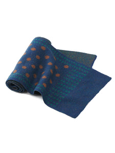Float Double Jacquard Dot Muffler