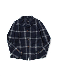 Jersey Flannel Jacket