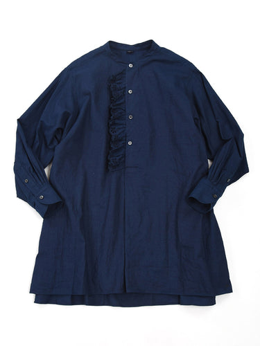 Indigo Cutwork Tunic in Indigo