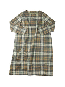 Jersey Flannel Dress