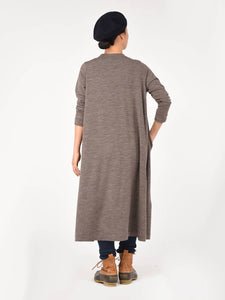 Inlay Wool Dress
