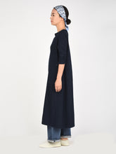 Indigo 45 Star Zimba Cotton Long Sleeve Dress